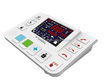 FDL-T3 GSM 3G Wireless unique senior elderly health care product inbuilt blood pressure measurement