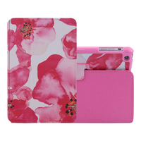 Most popular products china new design back cover pu case for ipad mini