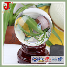 Delicate k9 crystal ball , Crystal glass ball for home decorations in china