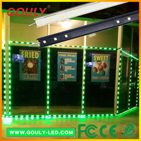 single color storefront led lights & commercial led window border