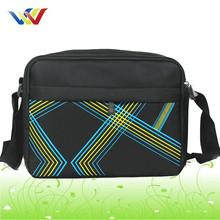 wholesale european mobile phone canvas shoulder bag for men
