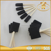 kids paint black sponge brush foam brush children DIY wood handle sponge paint brush