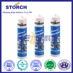 Acrylic sealant, modified sulfur curing agent