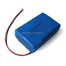 LED Lithium polymer battery packs HPL876190 6000mAh 11.1V