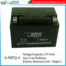 Vrla High Power Storage Battery /accumulator 12v4ah For Motorcycle