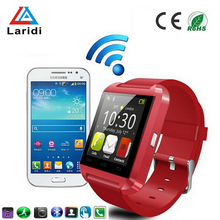 Wholesale ladies bluetooth u8 smart watch compatible with android phone