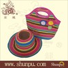 2015 new style fashion bag and hat suit