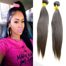Top fashion hot products for united states silky straight wave no acid process wholesale cambodian hair