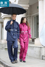 OEM factory custom nylon polyester rain coat with hood ladies mens durable breathable raincoat with pants factory products
