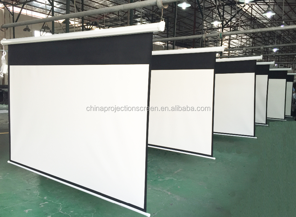 Telon big size motorized projection screen electric Motorized projection screens