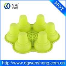 cake mold,BPA free food safe Silicone muffin cups cake