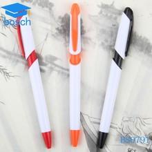 Plastic ballpoint/logo pen promotional plastic cheap ball pen