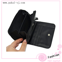 Womens small wallets wallet with coin slot