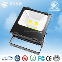 5 years warranty bridgelux chip Meanwell driver outdoor flood led light rechargeable 100w Led Flood light