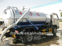 3000 liters sewage suction truck