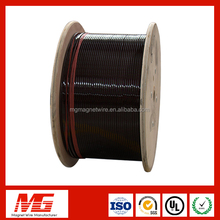UL Certificate colored polyimide pew enameled flat aluminum wire