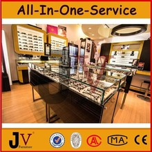 New design high quality retail store furniture display for optical store design