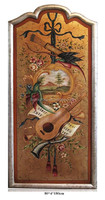 Traditional Classic Golden Painting in Frame, Home Decor in European Style BF11-03251f