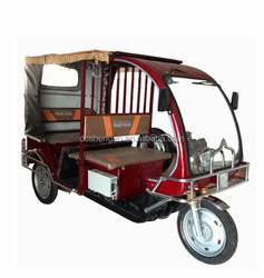 passenger three wheel motor tricycle for Bangladesh market.