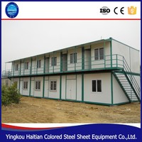 Two floor luxury house container made in China,living 20ft container house