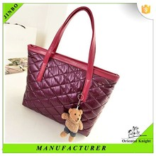 Chinese durable silk rectangle female beatuiful bag for cheap
