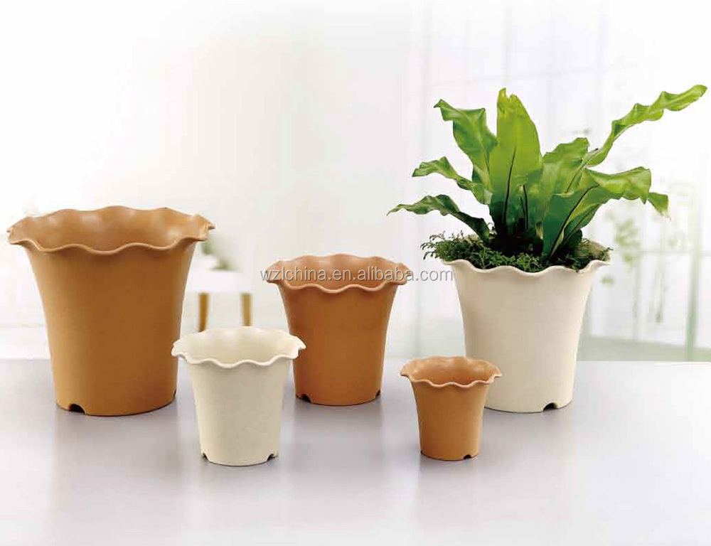 Garden Decoration Plastic Flower Pots Cheap Flowerpot