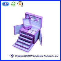 Big lots jewelry box/Arabic jewelry box/Pierced earring jewelry box