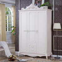 Natural Plate Wooden Classic Living Room Melamine Faced Particle Board & MDF Badroom Wardrobe