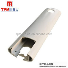 oval industrial extruded aluminum profile system
