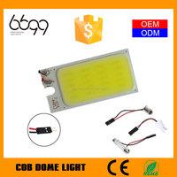 cob auto led read light cob car led roof lamp