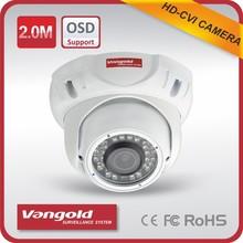 2.0MP CCTV Camera Support OSD menu with 20m IR Distance shenzhen camera