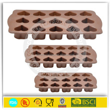 wholesale high quality colorful chocolate mold