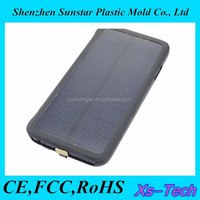 Mobile power bank solar mobile charger cover battery case