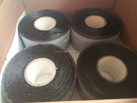 High standard algeria pipe anticorrosion coating tape with PVC film