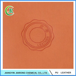 Color Change Embossing PU Leather for Hot Stamping