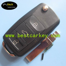 New Model 3 button car remote key 433Mhz ID48chip 1ko 959 753 G for vw key