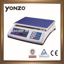 50 kg / 60 kg electrónica del peso precio de la máquina