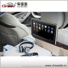 1080p 10 inch Android 4.4 HD TFT LCD touch screen monitor wifi /MP4/USB /SD /FM/IR/AV/3G wireless dongle