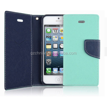 Wholesale Colorful Slim Combo Clutch Purse Pouch Leather Wallet Mobile Case With Credit ID And Money Holder for iPhone 6