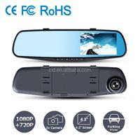 """Mini 4.3"""" Screen Full HD 1080P 140 Degree r300 manual car camera hd dvr"""