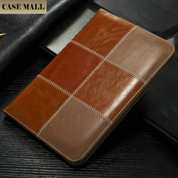 new product 2016 Mix colors wallet stand leather case for ipad mini