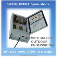 Telefone celular sinal de Repetidor Amplificador 2W GSM 850mhz,85 dB - Kingtone Amplificador Celular
