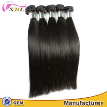 XBL hair manufactur in china virgin one donor Malaysian straight hair extensions