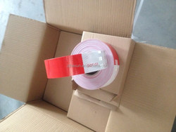 """2"""" X 150' Trailer Conspicuity DOT Reflective Red/White Tape US Canada Australia Hot Sales"""