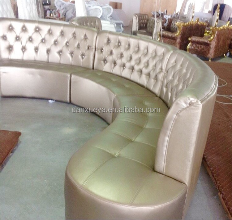 Semi Circle Leather Sofa (4)