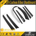 7pcs/set 09-13 q5 de fibra de carbono tablero de instrumentos para audi ajuste lhd