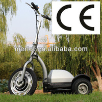 three wheel pedal assist electric scooter