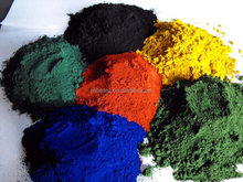 Paint chemicals Iron oxide red/yellow/brown/black/green