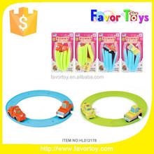 Wholesale new design plastic wind up toy railway motor.