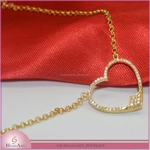 wholesale beautiful heart pendant necklace